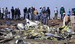 Tìm thấy hộp đen chiếc máy bay của Ethiopia Airlines gặp nạn