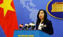 Bộ Ngoại giao Việt Nam phản đối Trung Quốc diễn tập bắn đạn thật ở Hoàng Sa