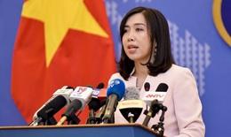 Indonesia đánh chìm tàu cá, Người phát ngôn Bộ Ngoại giao Việt Nam lên tiếng về vụ việc