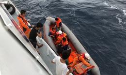 Trung Quốc điều trực thăng, tàu tới tìm kiếm 9 ngư dân Việt Nam mất tích