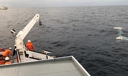 Sẽ sử dụng robot lặn tìm kiếm 9 ngư dân  tàu cá NA 95899 TS bị mất tích