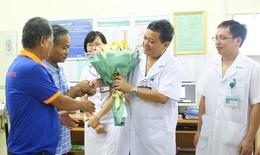 Bệnh nhân nước ngoài đầu tiên được hỗ trợ điều trị bệnh lao