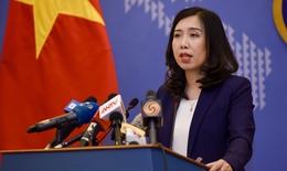 Việt Nam đã trao công hàm phản đối và yêu cầu Trung Quốc rút ngay khỏi vùng đặc quyền kinh tế của Việt Nam