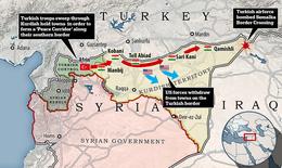 Thổ Nhĩ Kỳ tấn công Syria: Điểm nóng  mới ở Trung Đông