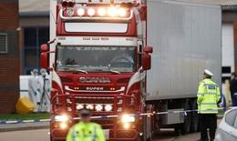 Nghi vấn có người Việt Nam trong xe tải đông lạnh chở 39 thi thể