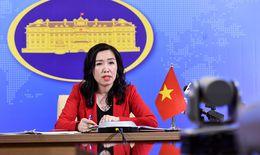 Người phát ngôn Bộ Ngoại giao: Yêu cầu các bên tôn trọng chủ quyền của Việt Nam trên Biển Đông