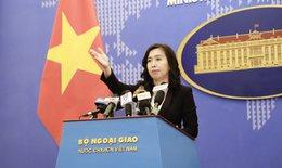 Việt Nam bác bỏ quyết định đơn phương cấm đánh bắt cá ở Biển Đông của Trung Quốc