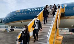 Đón 340 công dân Việt Nam từ Nga về nước