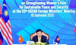 Thúc đẩy vai trò của phụ nữ ASEAN trong vấn đề an ninh và thịnh vượng  khu vực