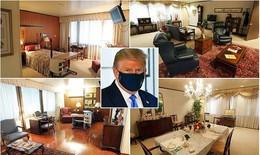 Bên trong nơi điều trị bệnh cho Tổng thống Mỹ D.Trump