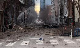 Mỹ: Cảnh tượng kinh hoàng sau vụ nổ vào sáng Giáng sinh