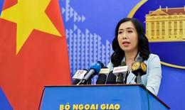 Việt Nam yêu cầu Trung Quốc tôn trọng chủ quyền của Việt Nam