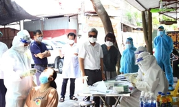 Bộ Y tế kiểm tra triển khai test nhanh tại Việt Yên, Bắc Giang