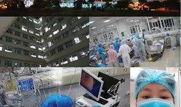 """COVID-19: Nỗi đau xé lòng của thầy thuốc trong những đêm trực """"khốc liệt"""""""