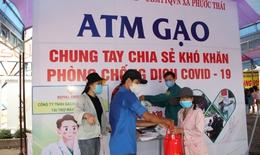 Chung tay nhân rộng mô hình ATM gạo hỗ trợ đồng bào bị ảnh hưởng bởi dịch bệnh COVID-19