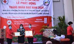 Đồng hành cùng Hội Chữ thập đỏ Việt Nam trao tặng 2 nhà tình nghĩa