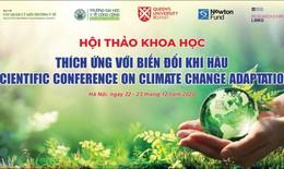 Chủ động ứng phó và thích ứng với biến đổi khí hậu của ngành y tế Việt Nam