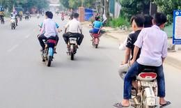 Xử nghiêm thanh, thiếu niên vi phạm trật tự an toàn giao thông