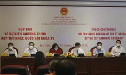 Kỳ họp thứ nhất, Quốc hội khóa XV sẽ diễn ra trong vòng 11,5 ngày