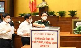 ĐBQH khóa XV ủng hộ 500 triệu đồng cho Quỹ phòng, chống COVID-19