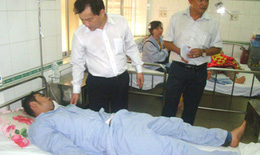 12 tử thi vụ tai nạn ở Bình Thuận được đưa về BV tỉnh chờ giám định ADN