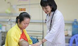 Phẫu thuật thoát vị bẹn thành công cho trẻ suy dinh dưỡng