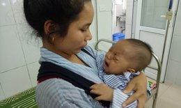 Bé 7 tháng tuổi hoại tử mắt vì gia đình tự chữa bệnh theo lời mách