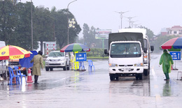 Vận tải hành khách, hàng cắt tóc, gội đầu ở  Quảng Ninh được mở trở lại nhưng đảm bảo nguyên tắc phòng dịch