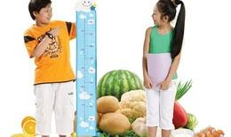 Trẻ ăn gì để phát triển chiều cao?
