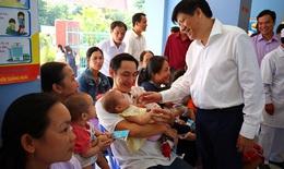Ðừng bỏ lỡ cơ hội cho trẻ tiêm chủng đầy đủ để phòng bệnh