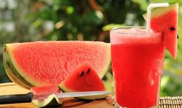 Dưa hấu tốt cho sức khỏe ngày nóng