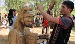 Gìn giữ nghệ thuật tạc tượng dân gian Tây Nguyên