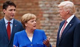 Chính sách thuế mới của Mỹ làm nóng Hội nghị Thượng đỉnh G7