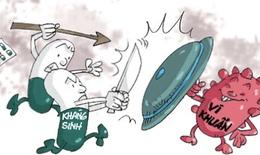 Những sai lầm cần tránh khi dùng kháng sinh