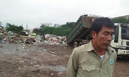 """Bãi trung chuyển rác thải trong Khu công nghiệp Vĩnh Hoàng, quận Hoàng Mai, Hà Nội: Người dân bị """"tra tấn"""" đến bao giờ?"""