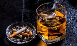Thuốc lá và rượu bia có thể gây ung thư da