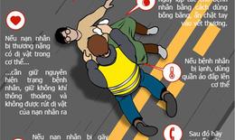 Tai nạn giao thông: Cách sơ cứu nạn nhân ngay tại hiện trường