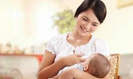 Nuôi con bằng sữa mẹ giúp mẹ có vòng eo nhỏ hơn