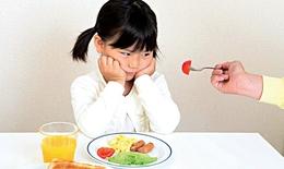 Giải tỏa nỗi lo khi trẻ biếng ăn