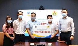Tiếp nhận 1 tỷ đồng do BH PVI trao tặng cho các cán bộ y tế tuyến đầu chống dịch