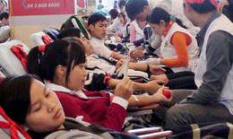 Ít người hiến máu, lo thiếu máu điều trị trầm trọng dịp Tết
