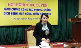 Dịch bệnh Đông Xuân: Bộ trưởng yêu cầu đưa giải pháp tức thì giảm số mắc, tử vong