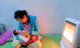 Bệnh viện trang bị điều hòa hai chiều, máy sưởi chống rét cho bệnh nhân