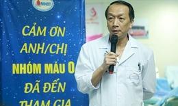 TS. Bạch Quốc Khánh: Hiến máu nhắc lại giúp giảm tình trạng khan hiếm máu