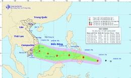 Chiều 29 Tết, bão Sanba sẽ đi vào Biển Đông