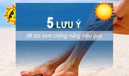 Nắng gắt trên 40 độ, bác sĩ da liễu chỉ cách chống nắng cho da ai cũng cần biết