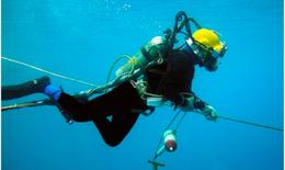 Cứu sống thợ lặn gặp tai biến nguy kịch khi đang đánh bắt hải sản ở đảo Cô Tô