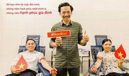 """Bố Sơn trong """"Về nhà đi con"""" xuất hiện ở điểm hiến máu cố định"""