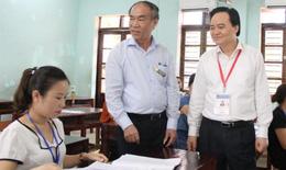 Bộ GDĐT thị sát công tác chấm thi THPT quốc gia tại Hà Giang