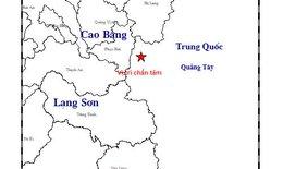 Động đất 2.9 độ richter gần Cao Bằng; mưa lớn gây thiệt hại nặng
